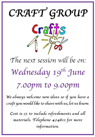 Craft Group June 2019