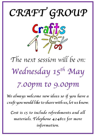 Craft Group May 2019