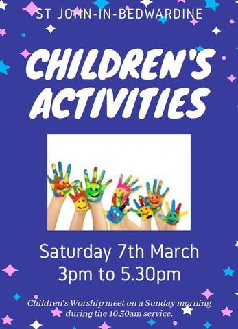 Children's Activities March 2020