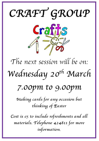 Craft Group March 2019