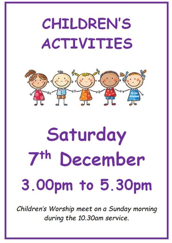 Children's Activities December 2019