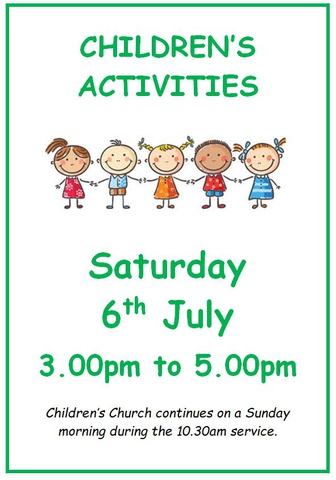 Children's Activities July 2019
