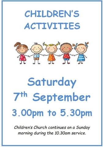 Children's Activities Sept 2019