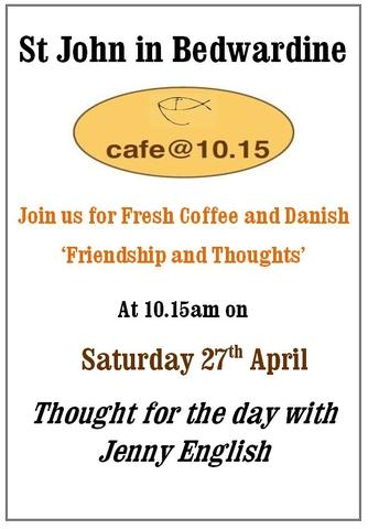 Cafe @ 10:15 April 2019