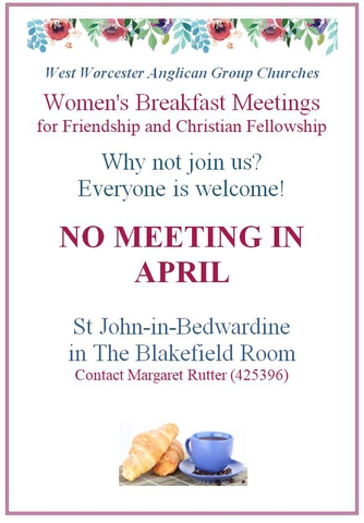 Womens Breakfast April 2020