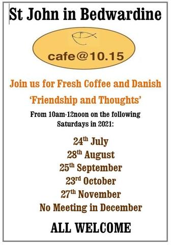 Cafe at 10.15