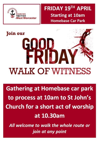 March of Witness and Churchyard Service