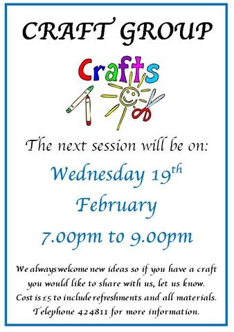 Craft Group February 2020