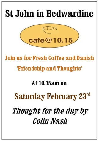 Cafe @ 10:15 February 2019