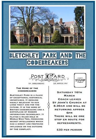 Coach Trip to Bletchley Park