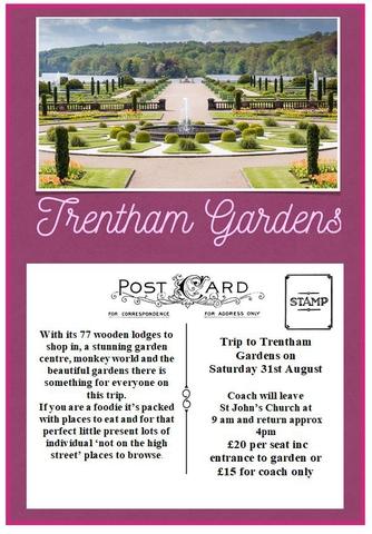 Trentham Gardens Coach Trip