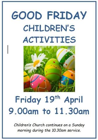 Good Friday Children's Activities
