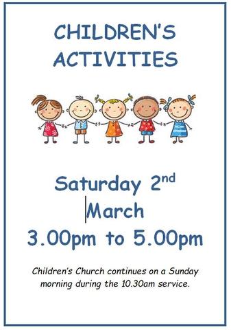 Children's Activities March 2019