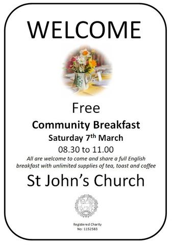 Community Breakfast March 2020