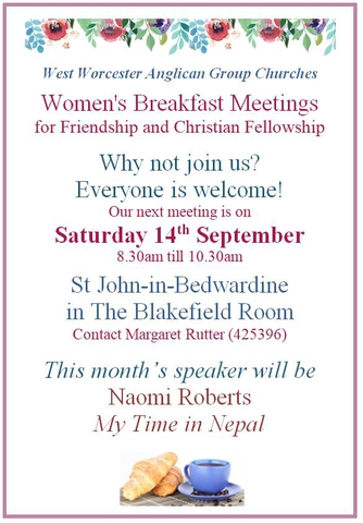 Womens Breakfast September 2019