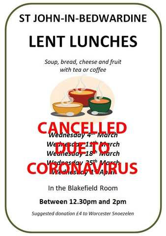 Lent Lunches 2020