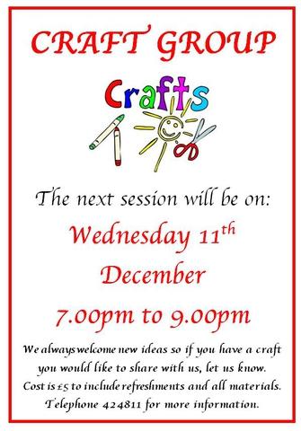 Craft Group December 2019