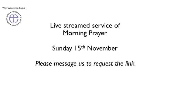Online Service 15 November 2020