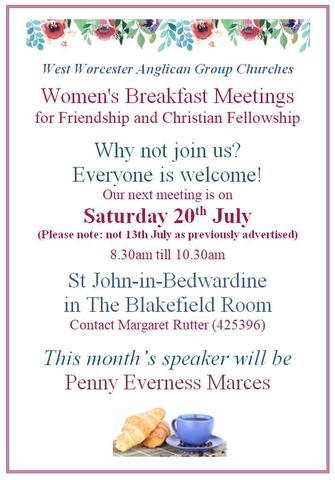 Women's Breakfast July 2019