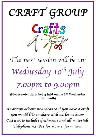 Craft Group July 2019