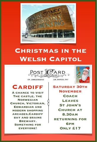 Cardiff Coach Trip November 2019