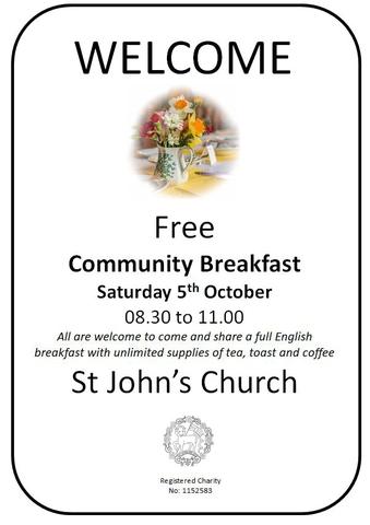 Community Breakfast October 2019