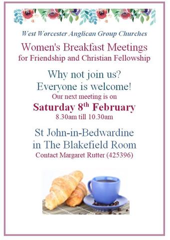 Women's Breakfast Meeting February 2020