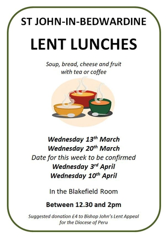 Lent Lunches