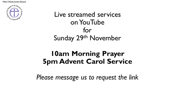 29th November Advent Services