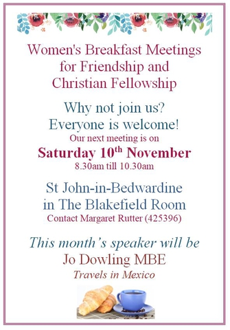 Women's Breakfast November 2018