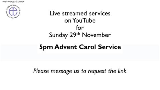 Online Advent Carol Service