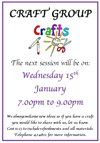 Craft Group January 2020